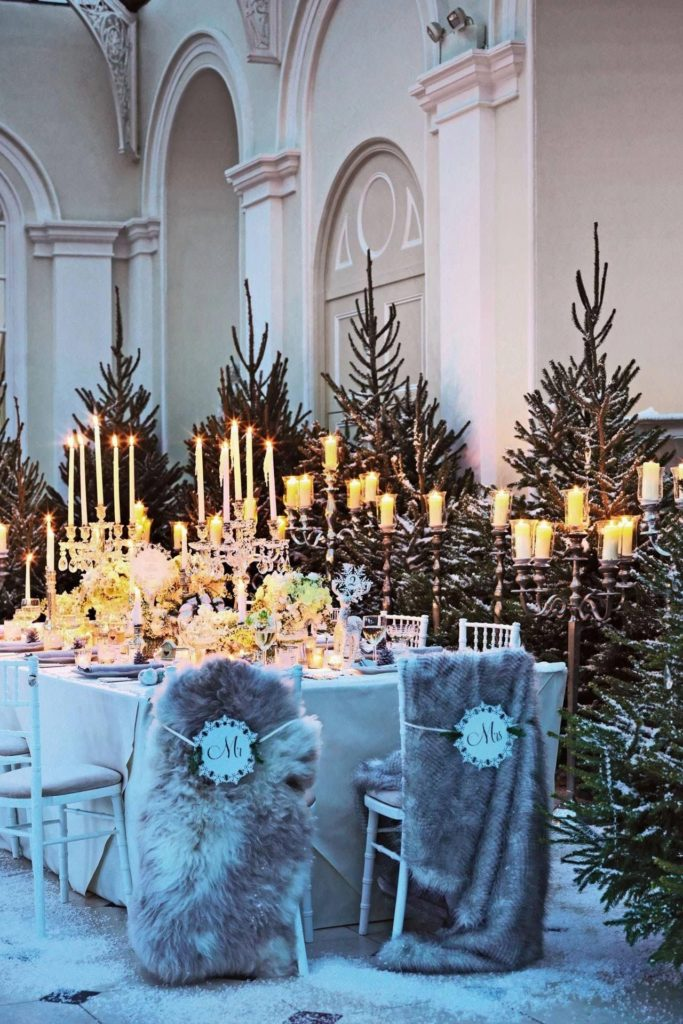 Téli esküvő, már úgy vártunk RoseArt Dekoráció