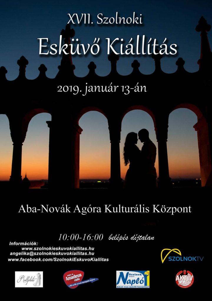 XVII. Szolnoki Esküvő Kiállítás, 2019. január 13., Aba-Novák Agóra Kulturális Központ