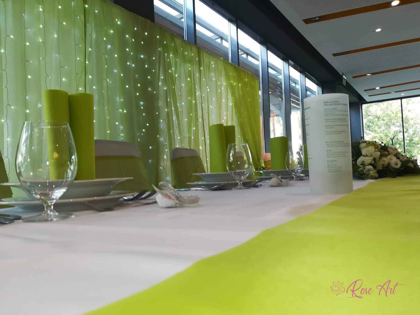 RoseArt Esküvő Modern Zöld