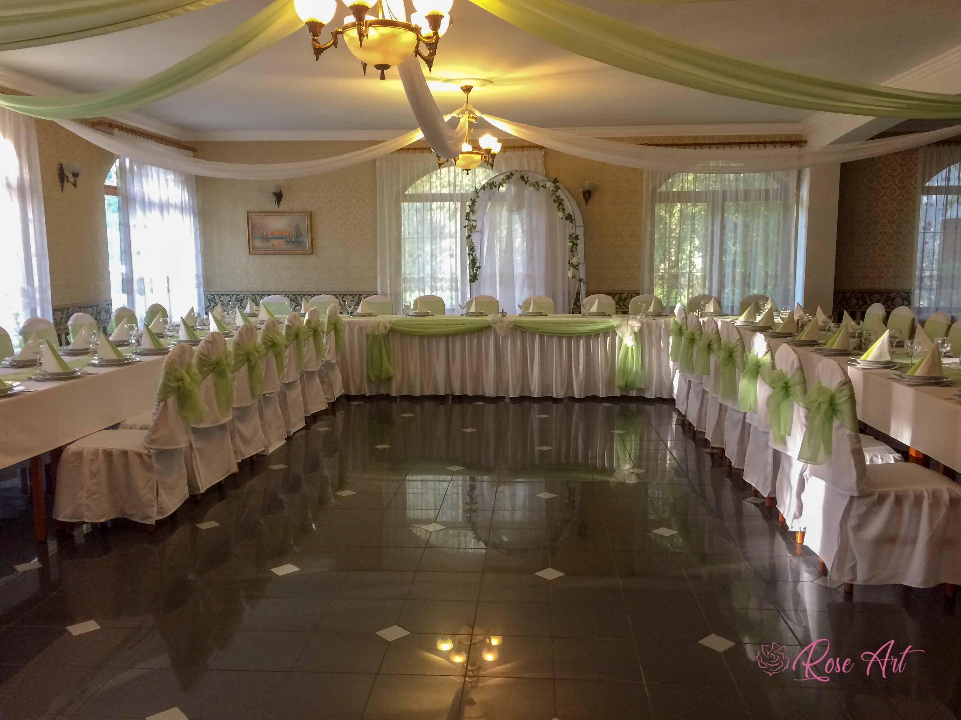 RoseArt Esküvő Pasztell Zöld