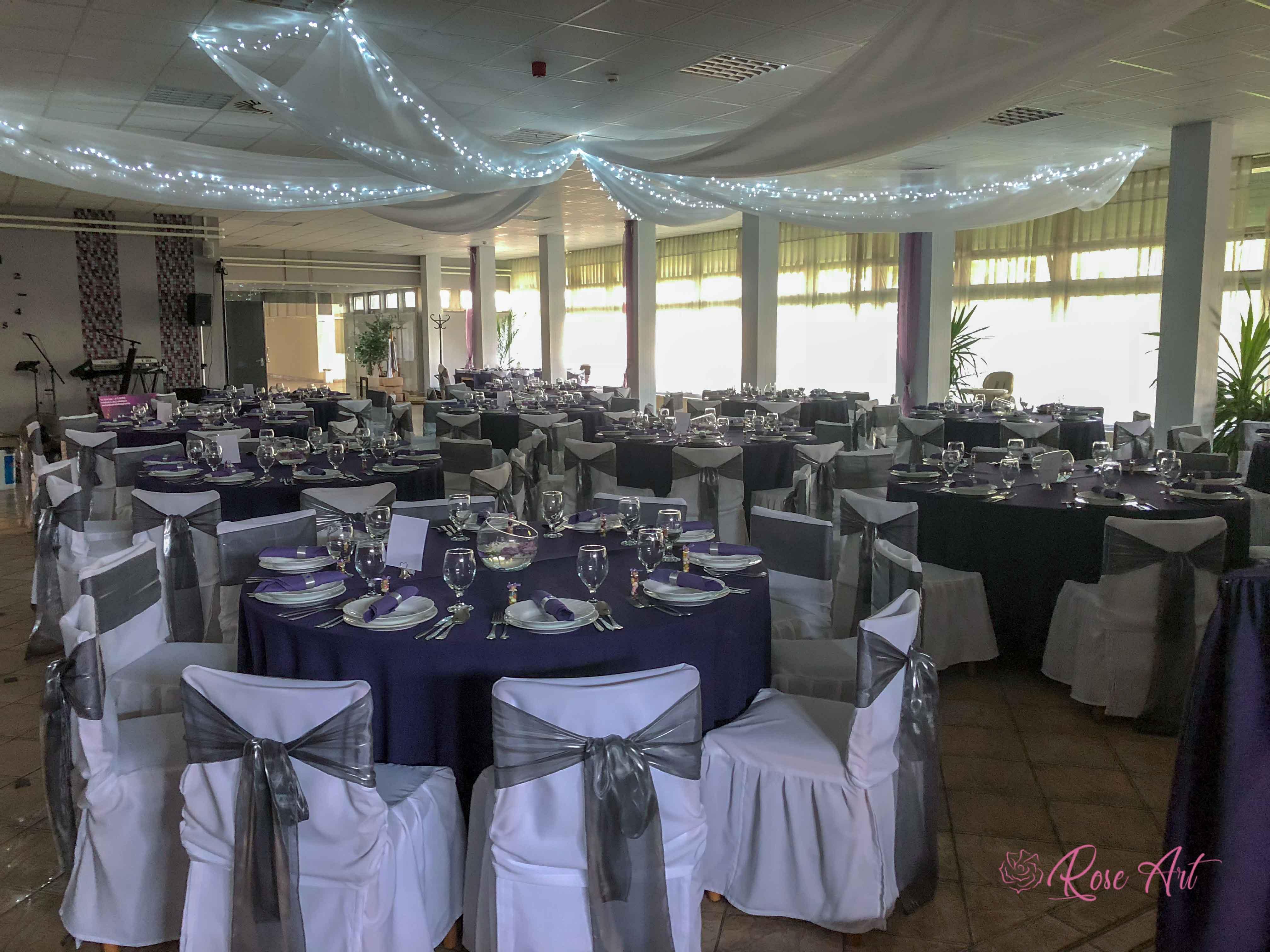 RoseArt Esküvő Modern Szürke Lila