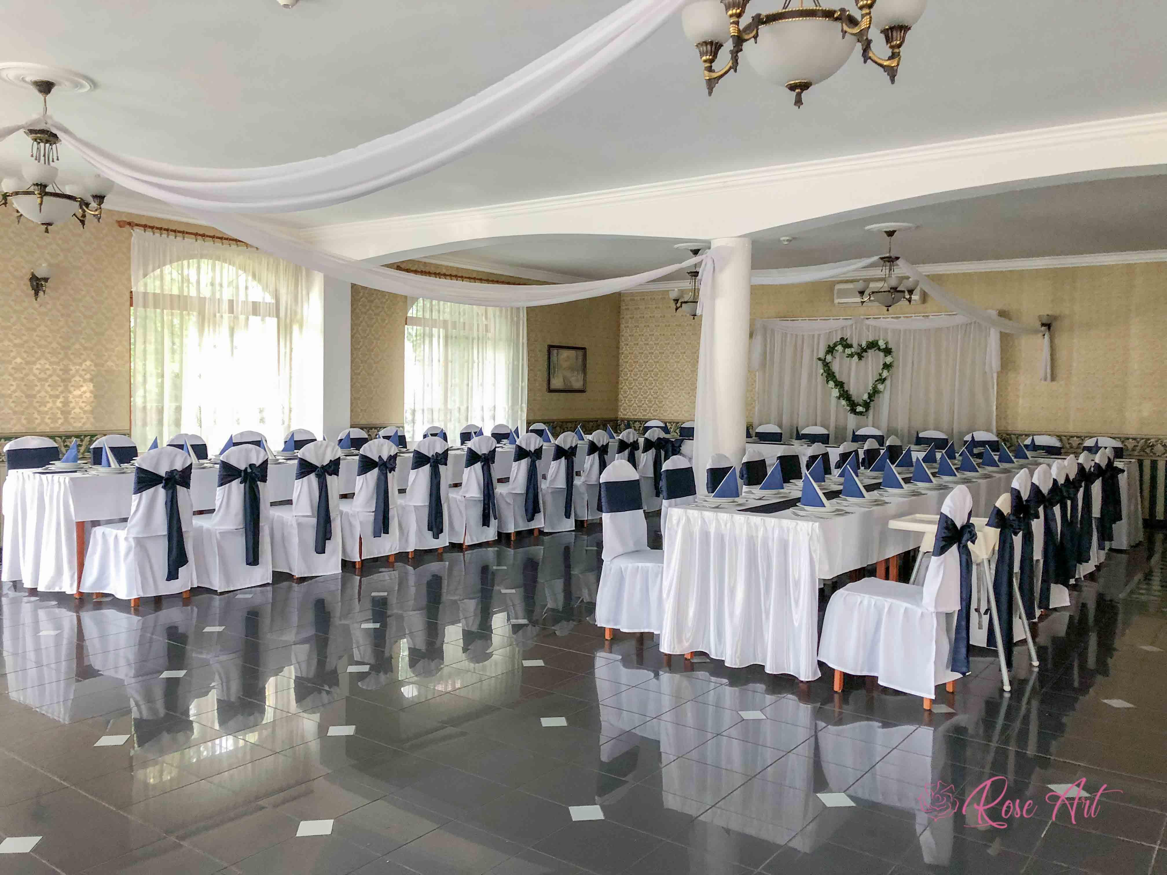 RoseArt Esküvő Elegáns Navy Kék